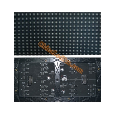 P4 Indoor SMD Black LED Video Screen Module 256 x 128mm